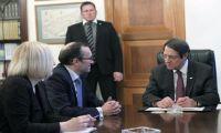 Με τον Πρόεδρο Αναστασιάδη συναντάται αύριο ο Έιντε