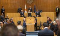 Με αναφορές στο Κυπριακό, οι ομιλίες στην επετειακή συνεδρία της Βουλής
